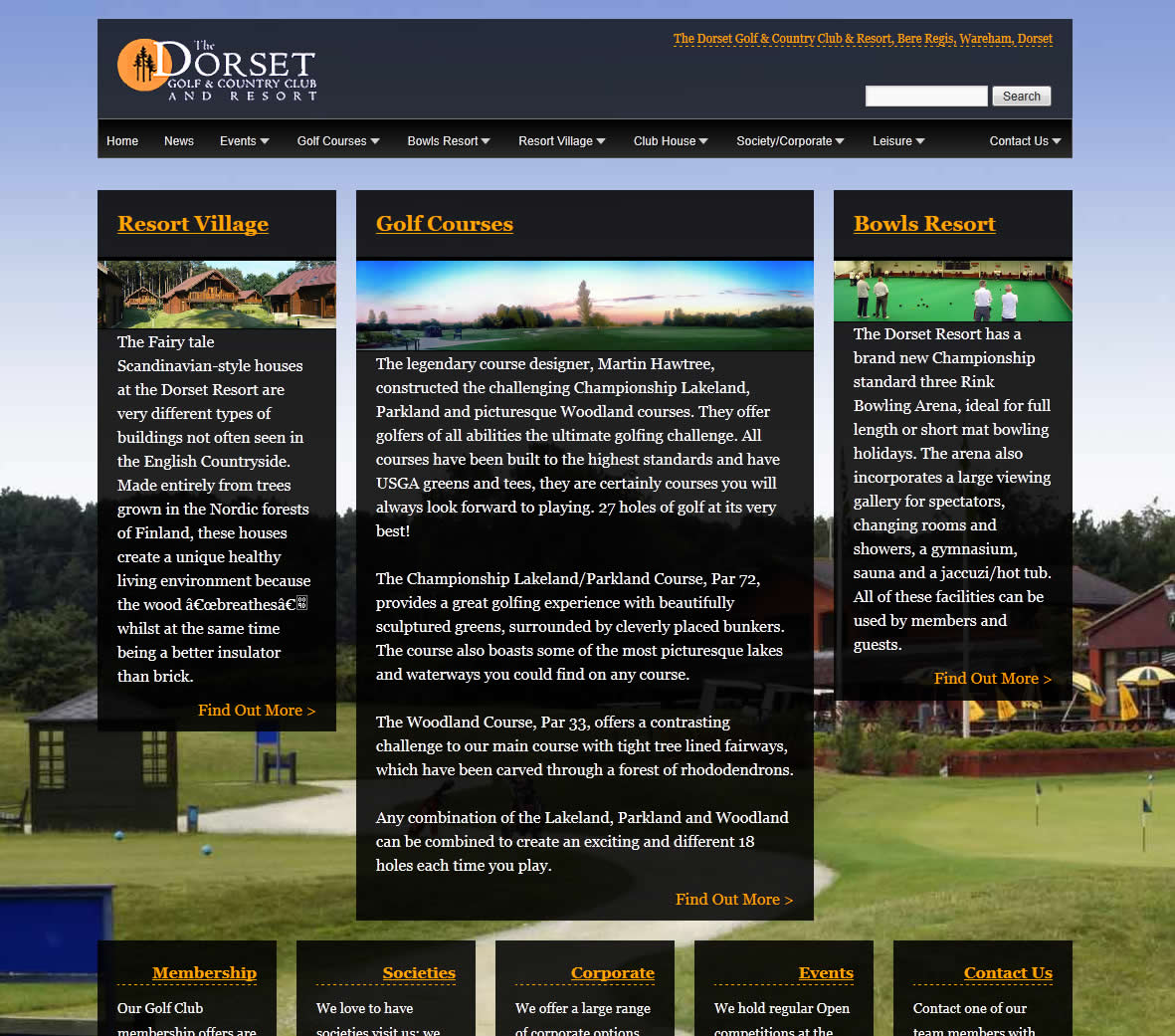 Dorset Golf and Country Club screenshot